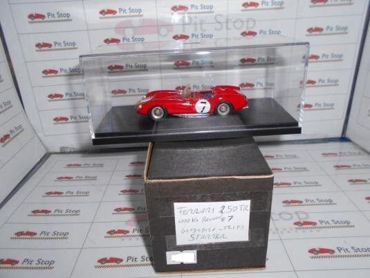 STR72291 FERRARI 250 TR N.7 3rd 1000 KM RENNEN 1958 GENDEBIEN-W.V.TRIPS 1 43