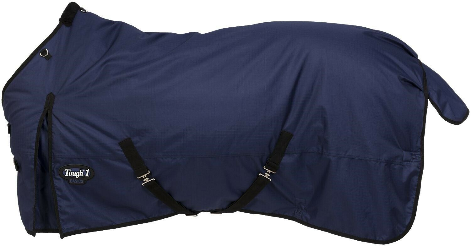 Winter Horse Blanket - HeavyWeight Turnout - 1200D-300 Gr  69  - 84  - Navy bluee  discounts and more