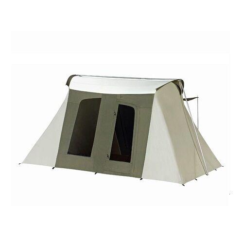 best service deeb3 678e2 New Kodiak Canvas 10x14 ft. 6014 8 person Flex Bow Waterproof Deluxe Canvas  Tent