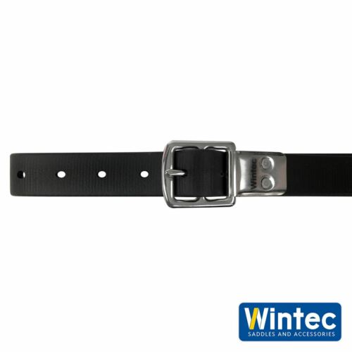 Wintec Slim Ligne Étrier Sangles Pas Extensible Slim Cuir Noir//Marron