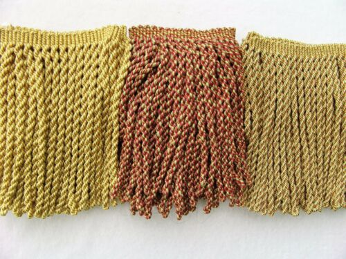 "GREAT PRICE for Soft 7/"" Bullion Fringe Trim BTY ~ CHOICE of COLORS ~ Upholstery"