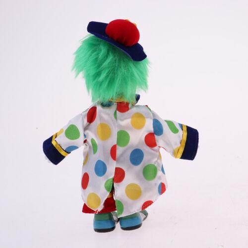 Vintage Hand Painted Porcelain Clown Doll Ceramic Clown Dolls Decoration #4