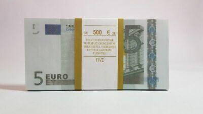 SOUVENIR BANKNOTE 500 EURO-1 pack-95-100pcs