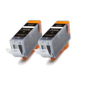 2-BLACK-Replacement-Ink-for-Canon-BCI-3e-i550-i560-i850-i860-iP3000-iP4000-MP750