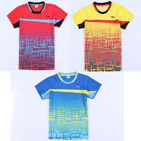 2016 Li Ning Men's Tops Table Tennis Clothing Badminton Only T-shirt 1663