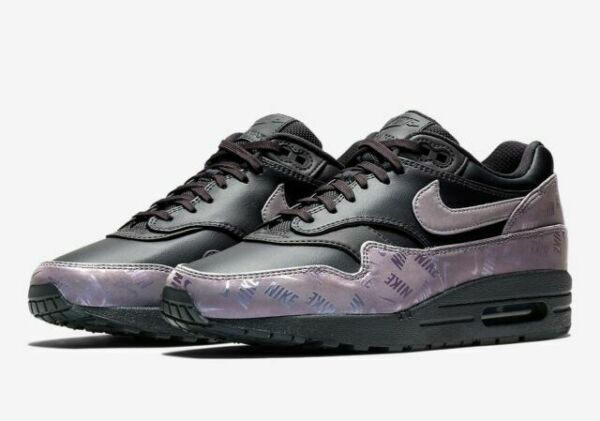 Size 4 - Nike Air Max 1 Lux Logo Prints 2018 for sale online | eBay