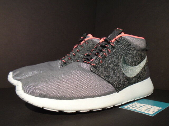 Nike ROSHE RUN QS ROSHERUN MID QS RUN TOKYO CITY PACK HASTA gris SEAWEED PUNCH rose 10 7deadb