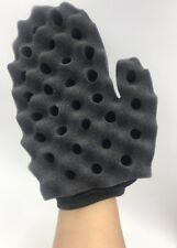 Dyk Sponge Glove Brush for Afro Twist Curls Waves N More 10mm Whole Size