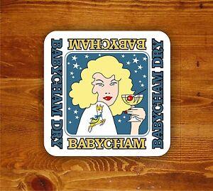 Babycham-retro-cocktail-039-Beermat-039-coaster