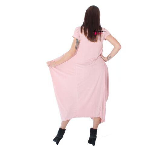 Maxi Parachute Midi Dress TULIP ROMPER Baggy Loose Oversize Plus Size 8-22 top