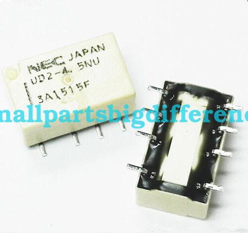 5pcs 10pcs UD2-4.5NU New Genuine NEC SMD8 Relay DC 4.5V
