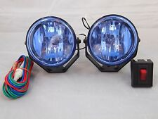 jeep willys car truck fog driving lights 2 4x4 off road 3 white universal driving lamps fog lights set wiring harness fits jeep willys