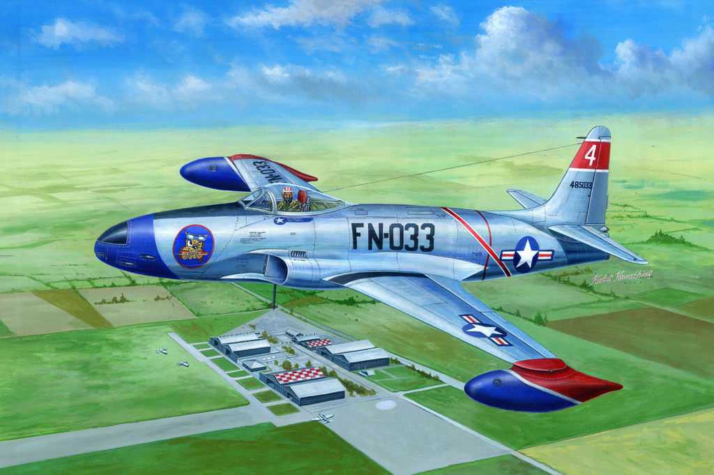 81723 Hobby Boss F-80A Shooting Star Fighter Warplane Aircraft 1 48 Model Kit