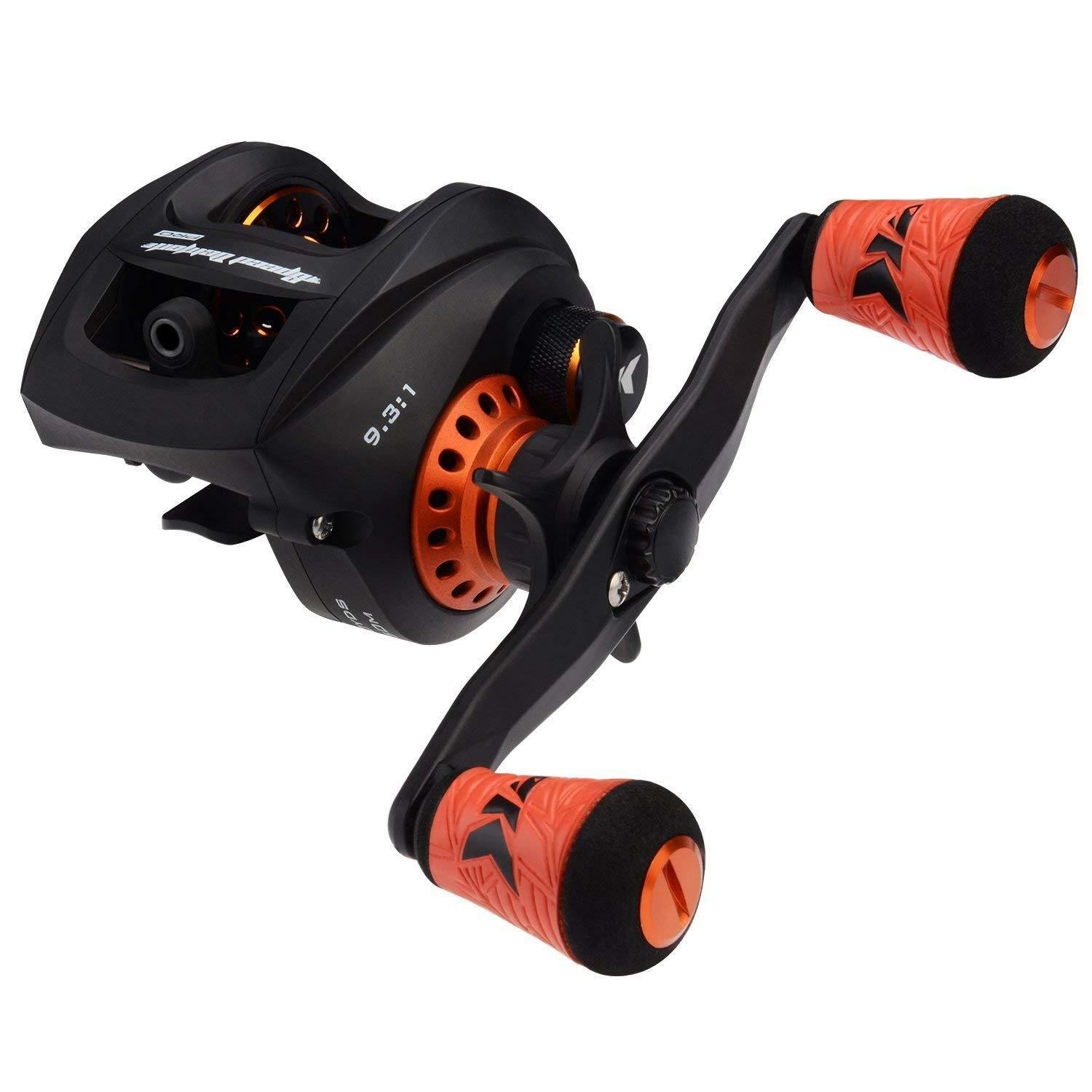 KastKing NEW Speed Demon Pro Baitcasting Reel High Speed 9.3 1 Gear Ratio 12+1