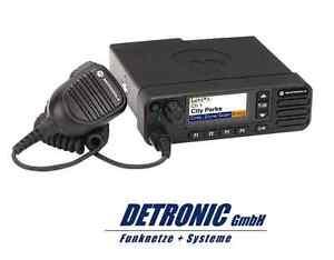 Motorola DMR Mobilfunkgerät DM4601 UHF - HP 45Watt - (MDM28QPN9KA2AN) - NEU!!