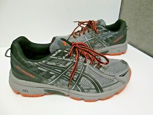 Mens-Asics-Gel-Venture-6-Trail-Running-Shoes-Sz-9-4E-Extra-Wide-T7G3Q-Athletic