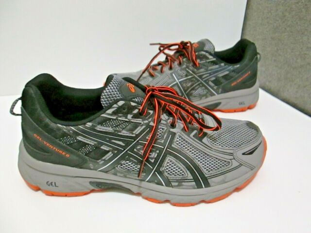 Mens Asics Gel Venture 6 Trail Running Shoes Sz 9 4E Extra Wide T7G3Q Athletic