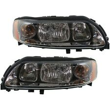 Headlight Set For 2004 2009 Volvo S60 Left And Right With Bulb 2pc Fits Volvo