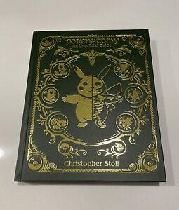 Pokenatomy Unofficial Pokemon Anatomy Guide Book Chris Stoll Leather Bound RARE