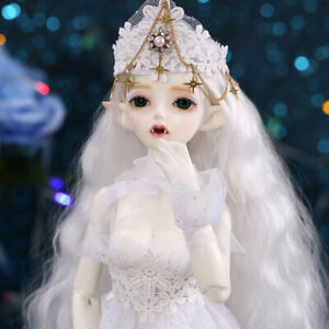 1-4-BJD-Doll-SD-Doll-Girl-FL-Hwayu-Free-Face-Make-UP-Free-Eyes
