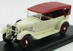 RIO-MODELS 1/43 MERCEDES BENZ   11-40 CABRIOLET CLOSED 1924   WHITE RED