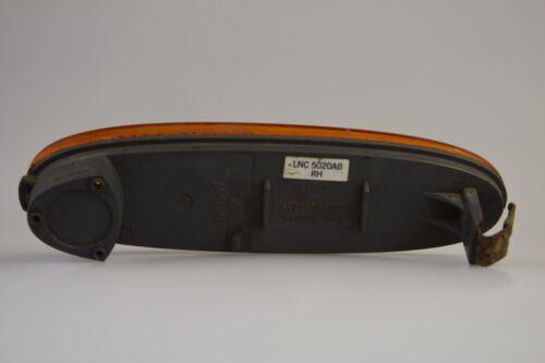 JAGUAR X308 XJ8 REFLEX LAMP REFLECTOR BUMPER FRONT OFFSIDE RIGHT SIDE LNC5020AB