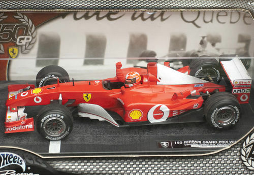 Michael Schumacher Ferrari F2002 150. Ferrari GP Wins 09 06 2002  | Modisch