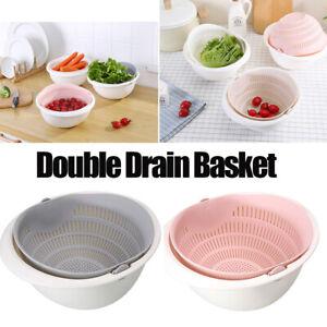 Detachable-Double-Drain-Basket-Bowl-Vegetable-Fruit-Washing-Gadgets-Portable
