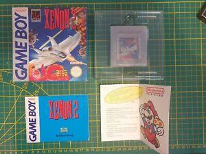 NEW-RARE-XENON-II-2-OVP-Nintendo-Gameboy-Game-boy-Boxed-boite-DMG-X2-FRG