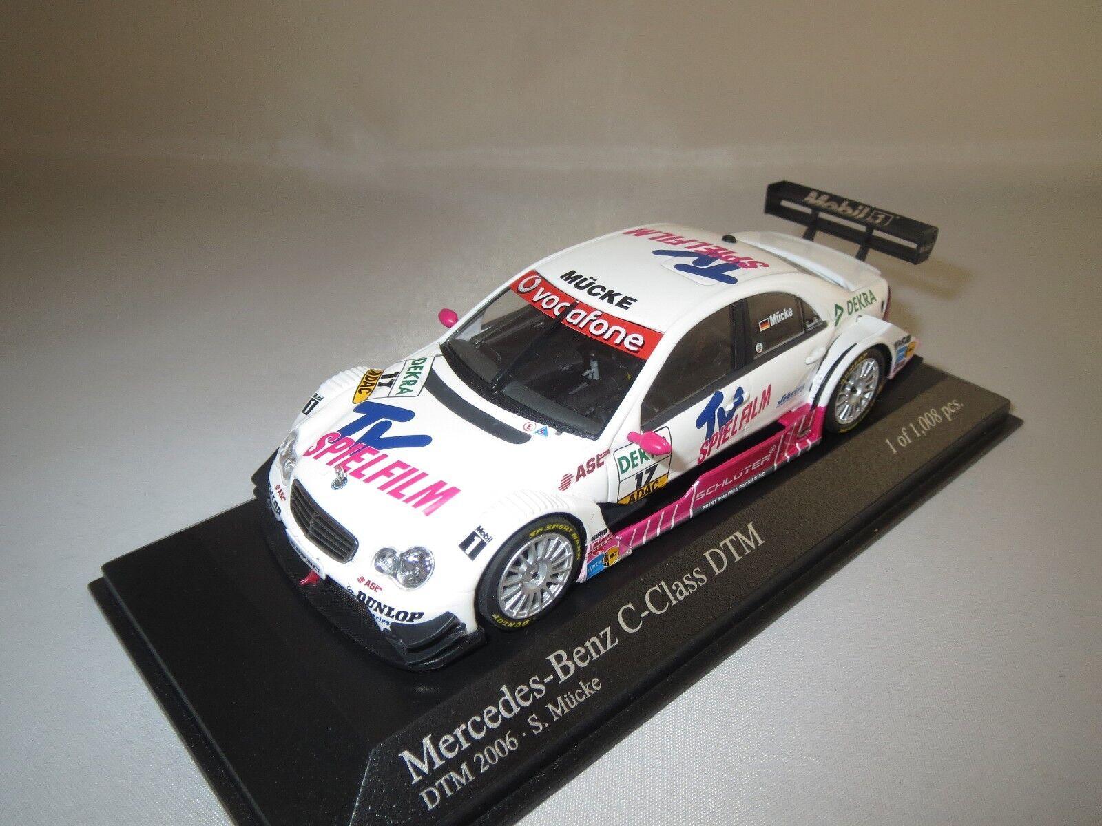MINICHAMPS Mercedes-Benz C-CLASS  DTM  2006 (p. Moustique  17) 1 43 neuf dans sa boîte