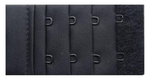 Naturana BH Verlängerung 2er Pack schwarz weiss haut 4 cm