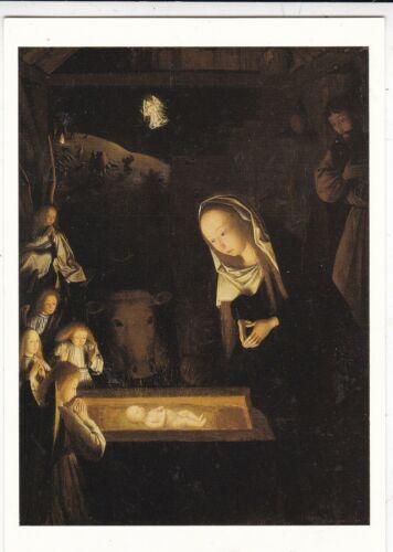 Geertgen Sint Jans The Nativity Postcard unused VGC