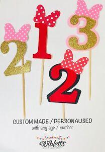 Fabulous Minnie Mouse Theme Party 1St 2Nd 3Rd Birthday Cake Funny Birthday Cards Online Kookostrdamsfinfo