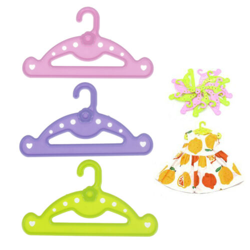 5pcs Hangers doll clothes accessories hanger fit 18 inch doll /&43cm  doll