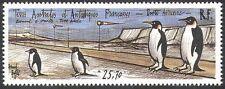 FSAT/TAAF 1992 Penguins/Birds/Nature/Landing Strip/Aviation/Wildlife 1v (n23151)
