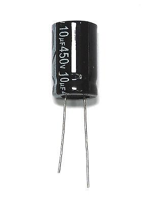 con plomo Radial de ± 20/%, 10 mm 10 µF 450 V Condensador electrolítico EE Series