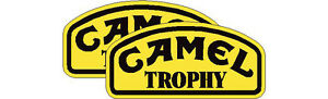 Camel Trophy stickers, pair 250mm wide, land rover, 4x4 off road, vans & camper