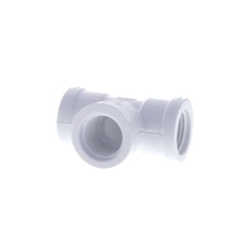 Schedule 40 PVC FPT Tee-Size:1//2 inch