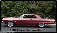 1964 Chevrolet Impala Ss Refrigerator Magnet