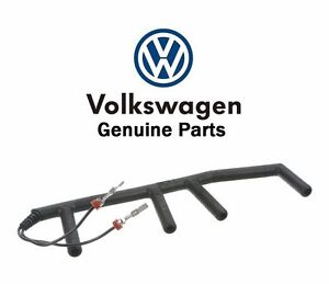 vw beetle golf jetta diesel glow plug wiring harness genuine 028971766 image is loading vw beetle golf jetta diesel glow plug wiring
