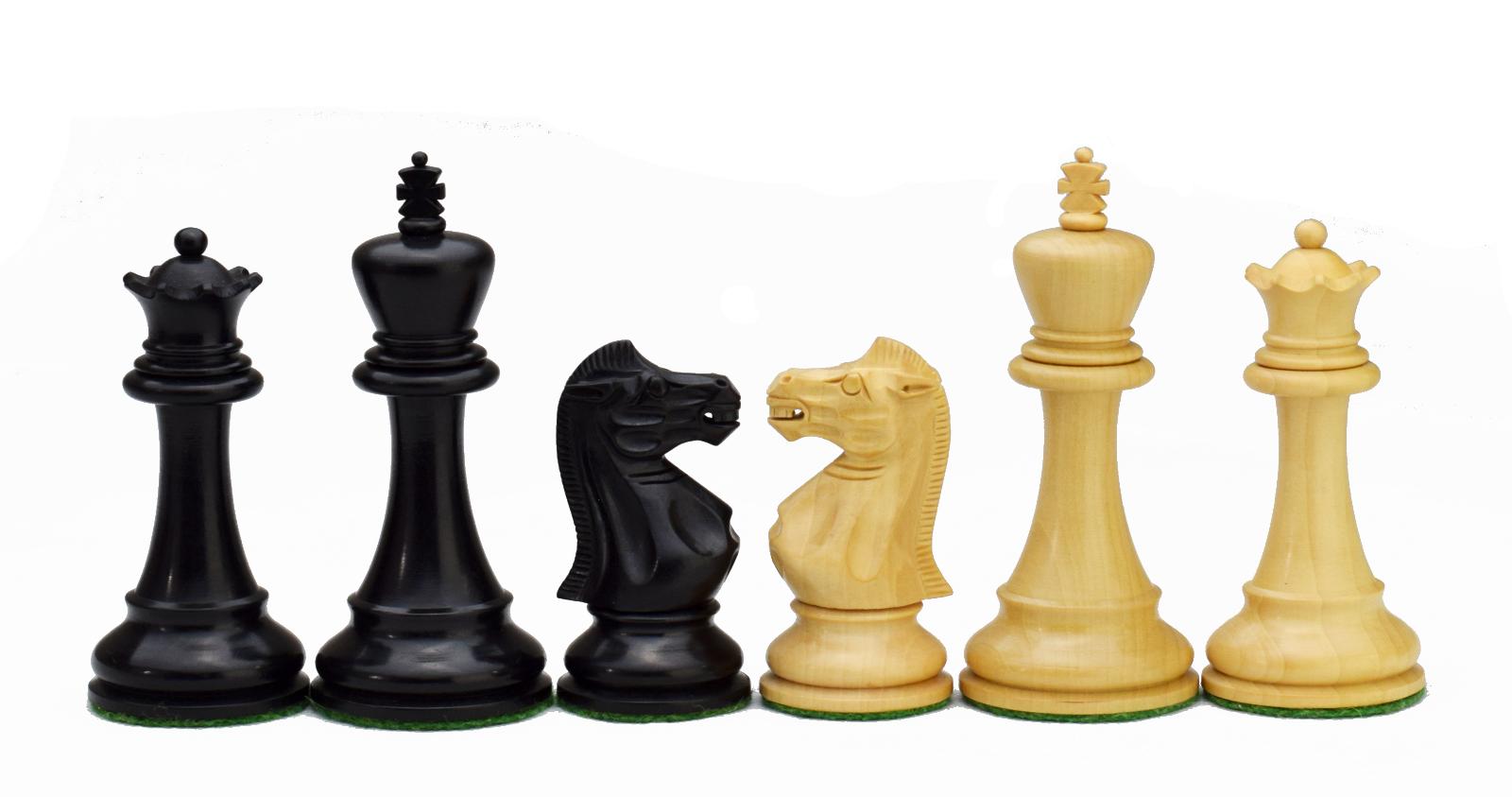 ROOGU Old English Series  3.5'' 3.5'' 3.5'' Staunton Jeu d'échecs Bois 4x Dames Fait Main 626ba1