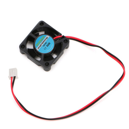 DC 5V//12V Small 2-Wire Cooling Fan For 3D Printer Parts Extruder