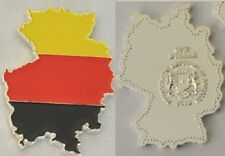 Unusual 2013 Somalia color $1 Map-shaped Germany/Flag-