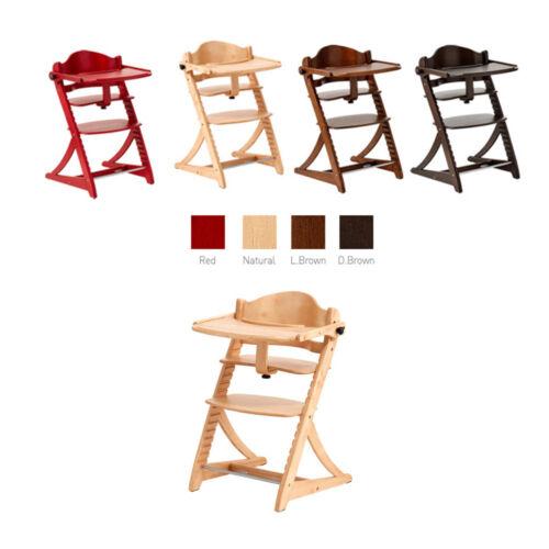 Yamatoya New Sukusuku Tray Adjustable height Baby Safe belt High Chair 4 Color