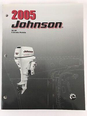 "6 2005 Johnson OEM Service Repair Manual /""SO/"" 5005962-2 Stroke 3.5 8 HP"