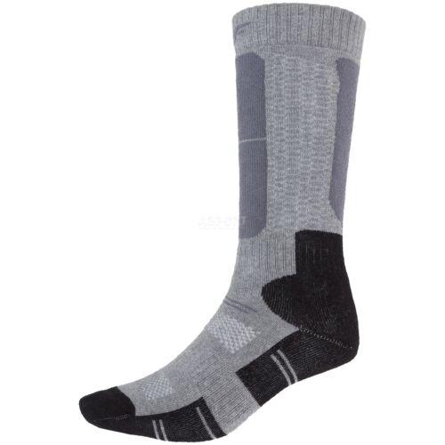 4F Kinder Skisocken Wintersocken Thermo Socken Warme Winter Socken Ski WARM grau