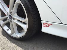 FORD ST Side skirts Spoiler Wing Stickers Fiesta Mondeo Focus ST LINE ST3 mk3