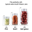4Pack-Of-Fermentation-Glass-Weights-W-Easy-Grip-Handle-For-Wide-Mouth-Mason-Jar thumbnail 4