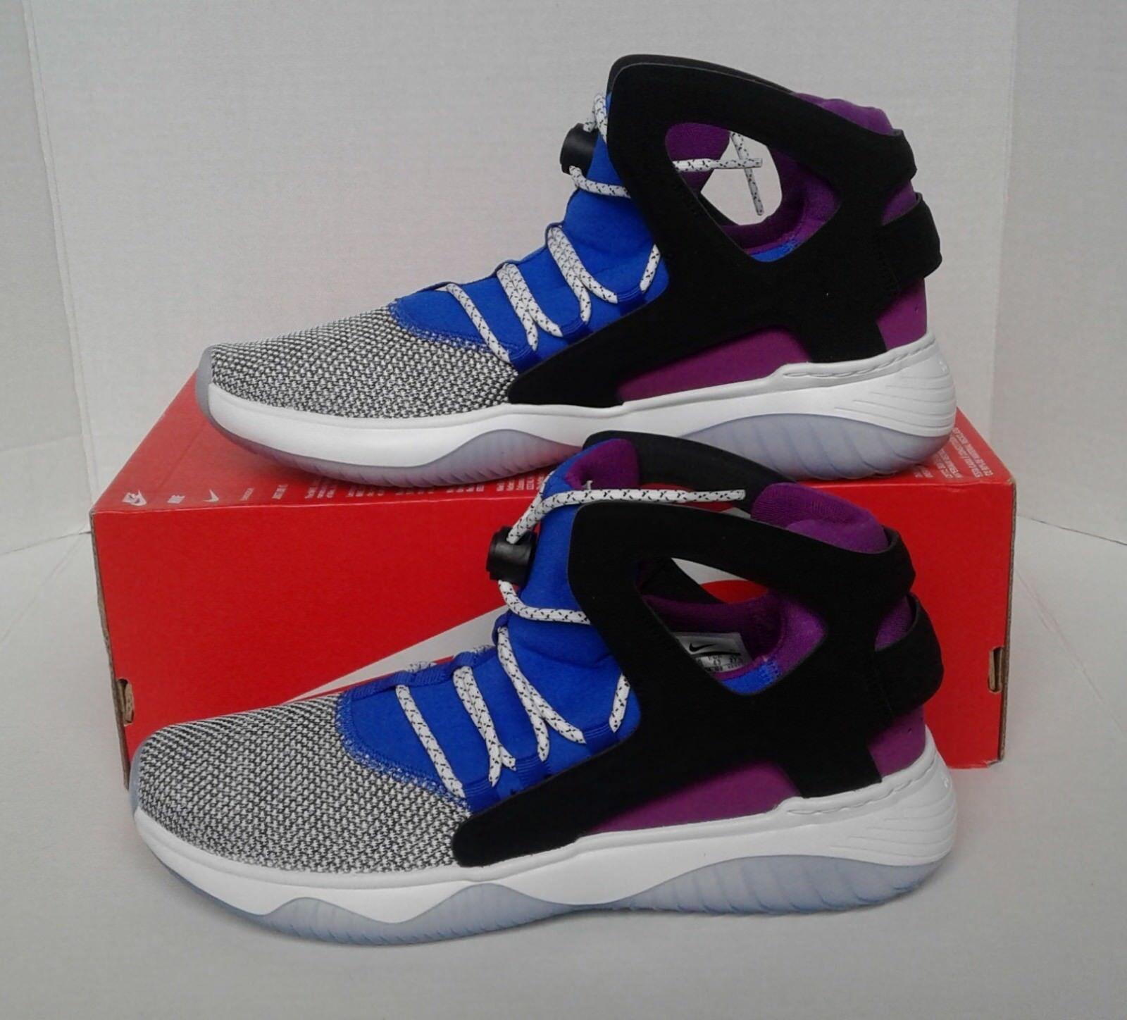 promo code 64629 78457 ... switzerland nueva nike hombre blanco ultra negro azul air flight  huarache ultra zapato reducción de precio