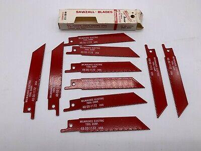 MILWAUKEE Super SAWZALL Blade 6T 5in Length 5PK Part # 48-00-5052